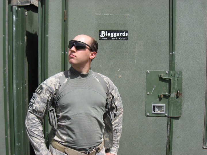 Blaggard in Iraq
